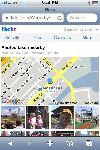 flickr nearby