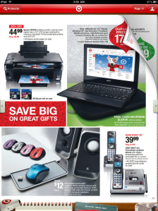 Flipping through deals is like flipping through the print circular, but better.