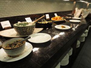 Centurion SFO hot buffet