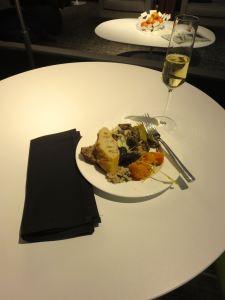 Centurion SFO lunch