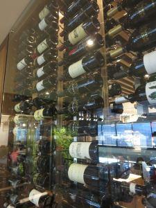 Centurion SFO wall of wine
