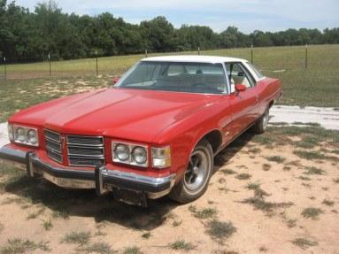 Pontiac Catalina, our first car.